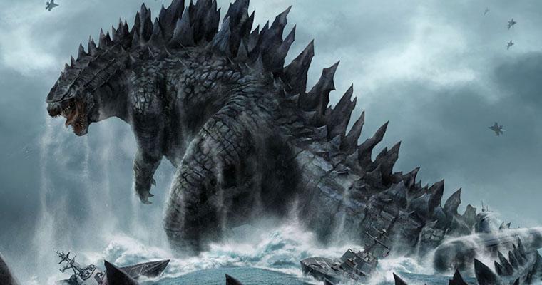 образ ящера Годзиллы