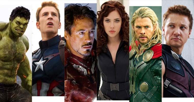 герои фильма о мстителях