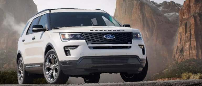 обновленній Ford Explorer 2019