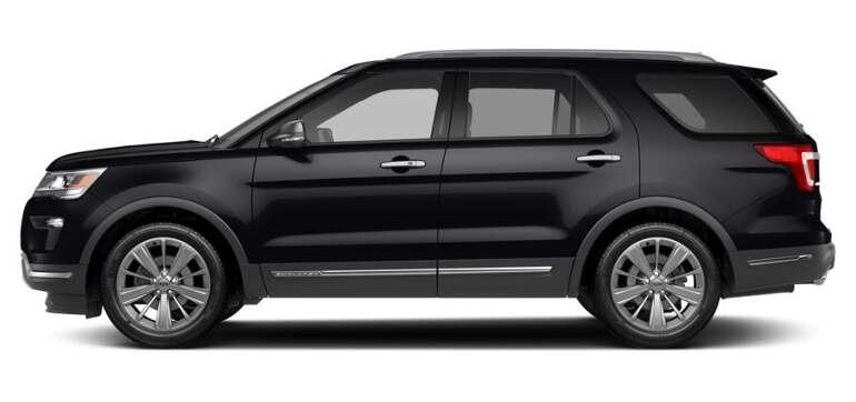 кузов Ford Explorer 2019
