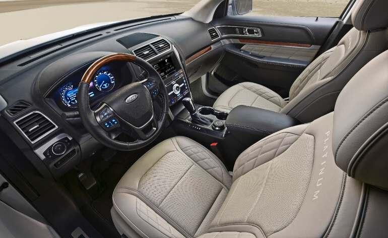 салон Ford Explorer 2019