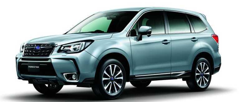 внешность Subaru Forester 2019