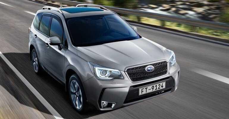 бампер Subaru Forester 2019