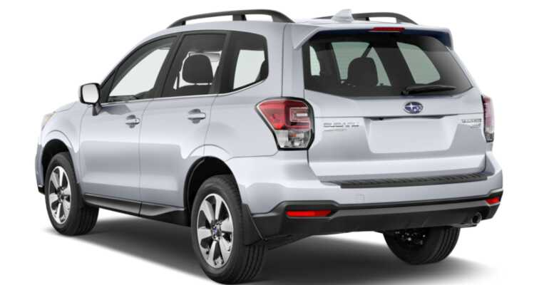 задние фары Subaru Forester 2019