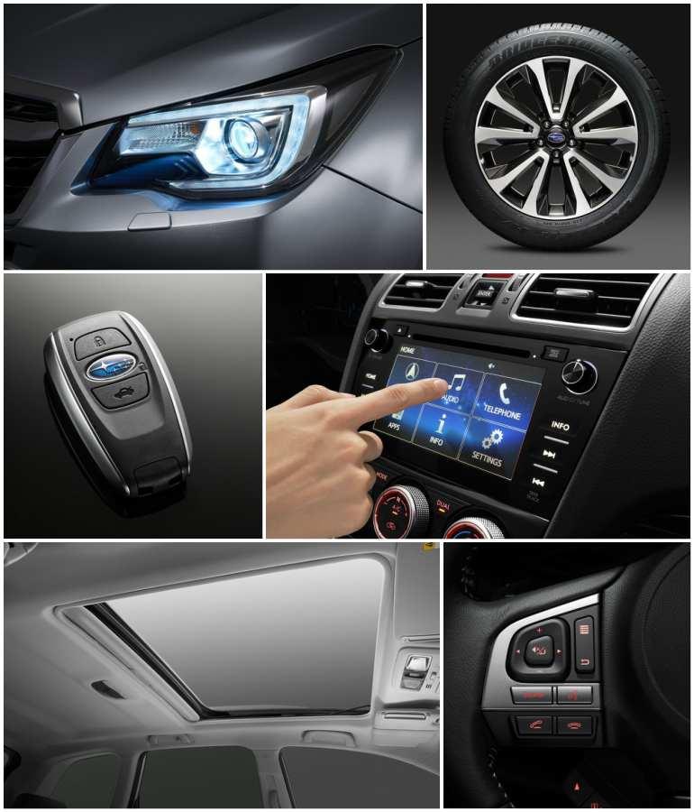 детали Subaru Forester 2019