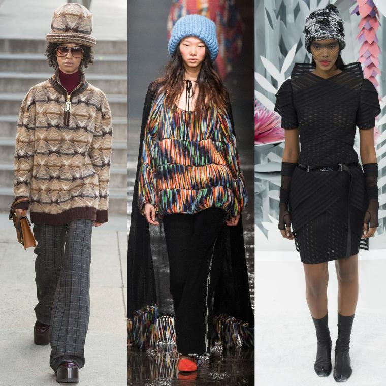 Модные узоры шапок