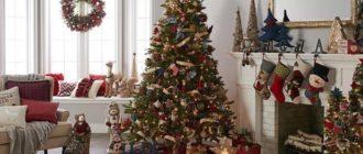 наряженная елка к 2019 новому году