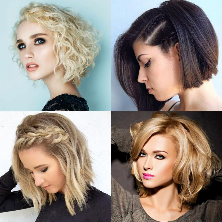 Идеи укладки коротких волос