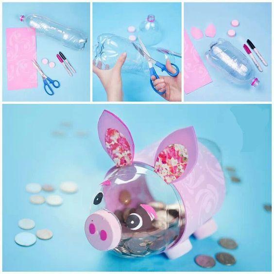 пошаговое изготовление снинки из пластикой бутылки