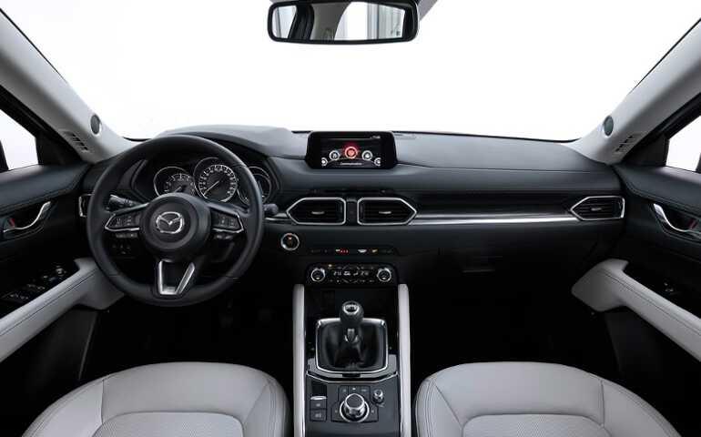 приборная панель Mazda CX-5