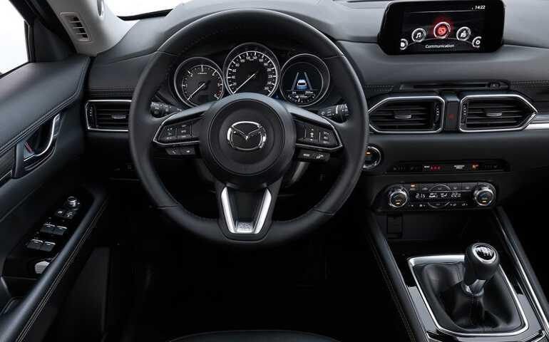 руль Mazda CX-5