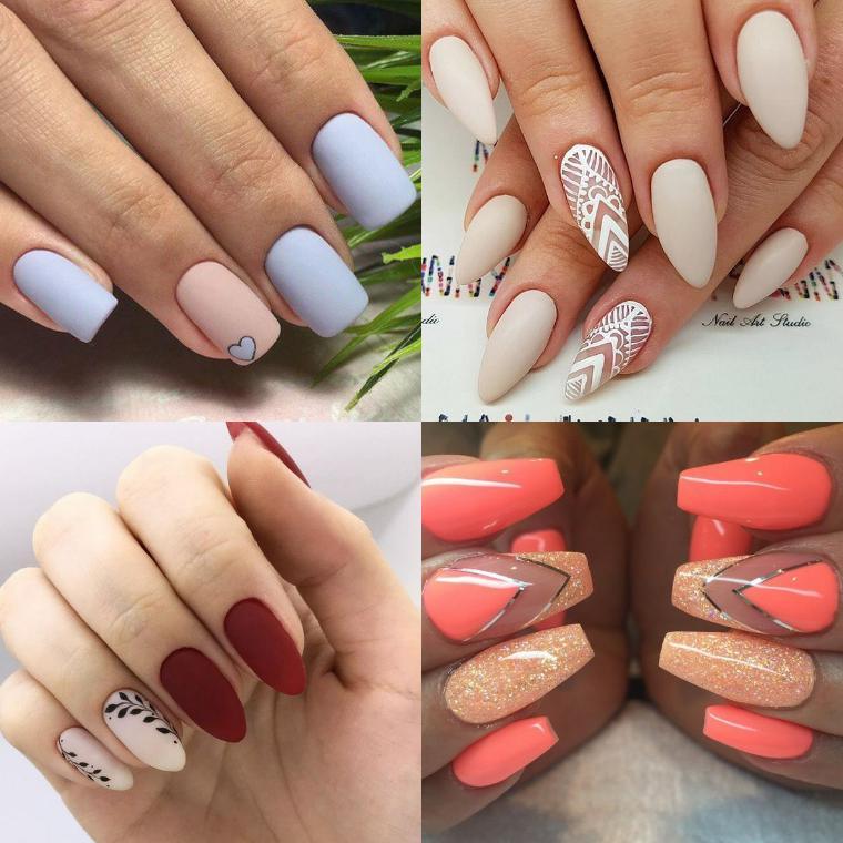 Форма и длина ногтей