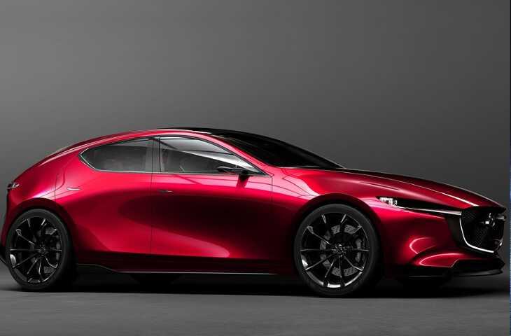Mazda 3 2019 - кузов сбоку