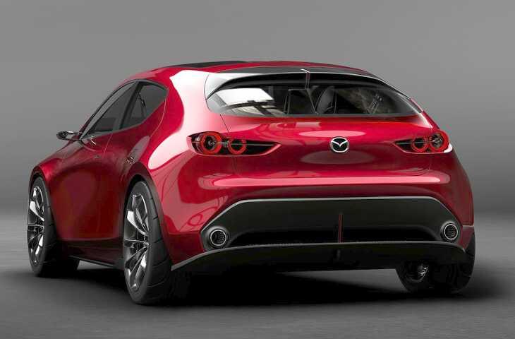 задние фары Mazda 3 2019