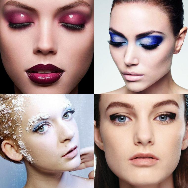 Тенденции новогоднего макияжа