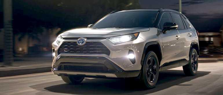 новая модель Toyota Rav4 2019
