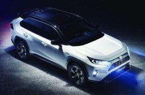Toyota Rav4 2019 гибрид