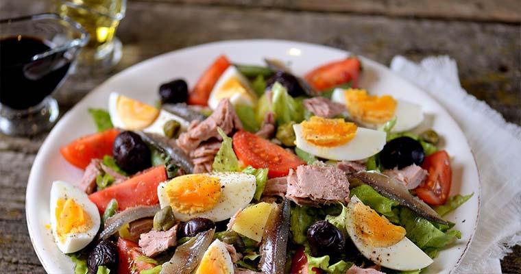знаменитый салат «Нисуаз»