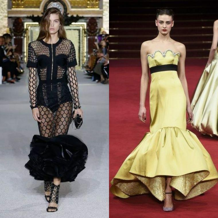 платье-русалка годэ