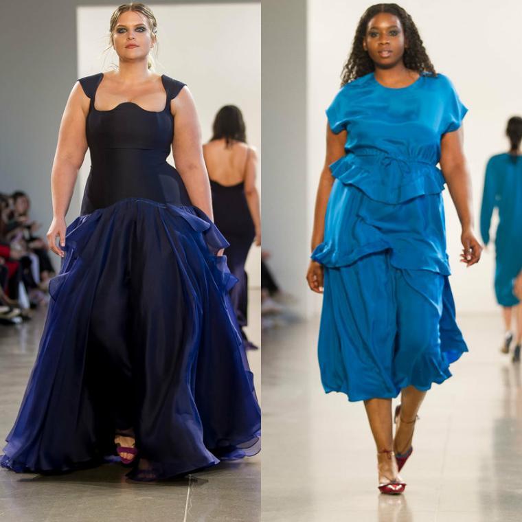 платья для женщин с пышными формами