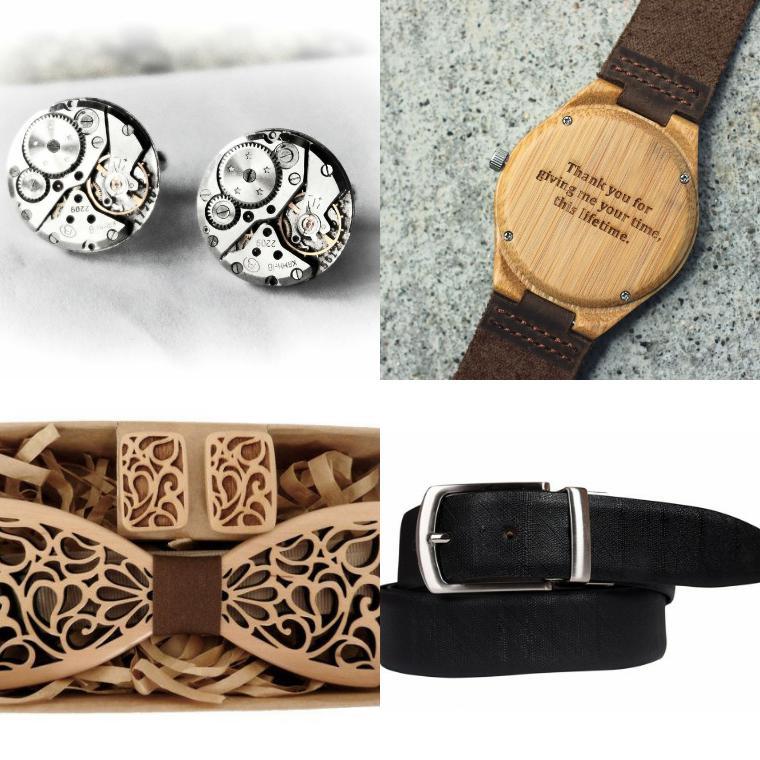 апонки, часы, ремень, бабочка