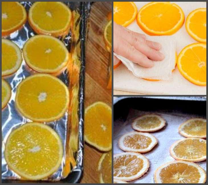 сушка апельсин