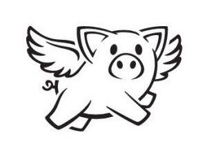 летающая свинка картинка