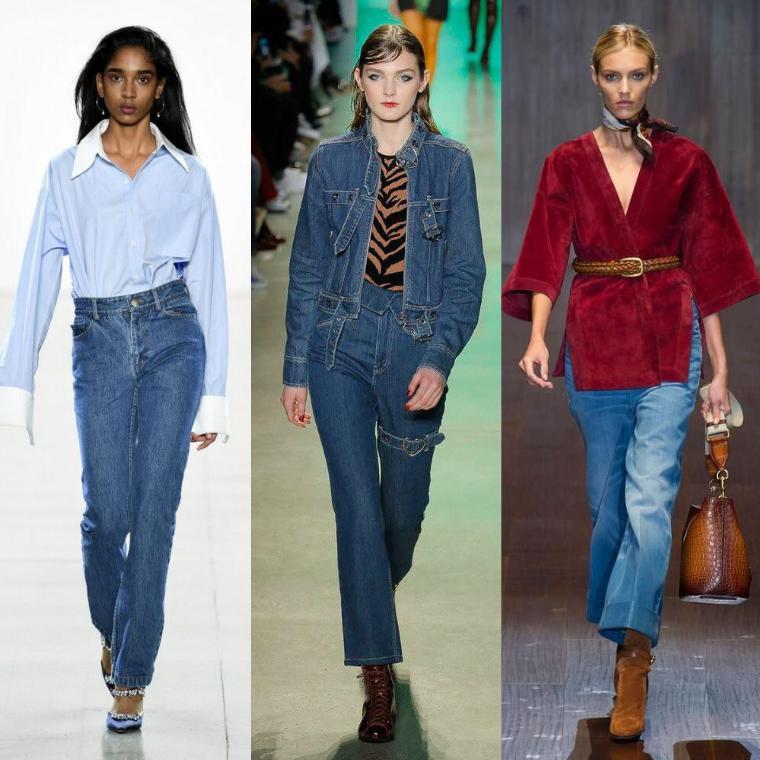 джинсы классического кроя